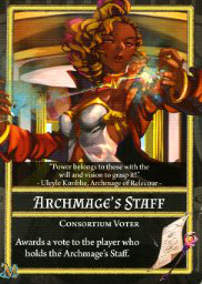 Owner of Archmage's Staff